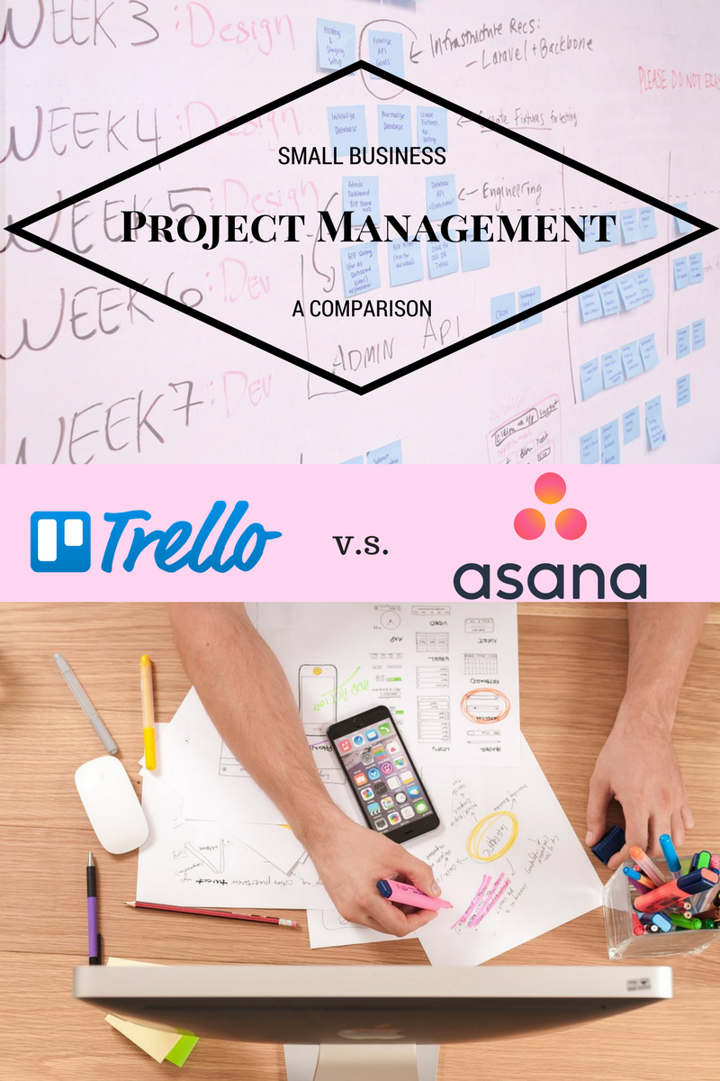 Project management tools for small business - Trello vs Asana | Asana vs Trello | Business management with Asana | Business management with Trello | How to use Trello for business | Use Asana for business | Project management tools | how to manage projects | Free software project management | Tools to make business easy