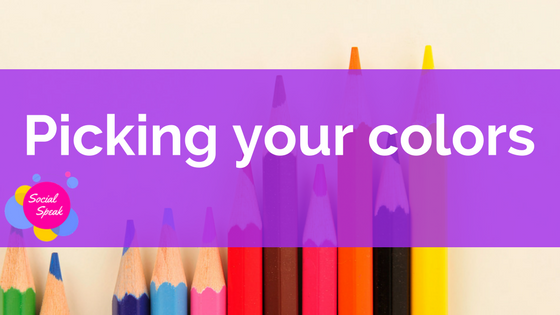 Picking your brand colors