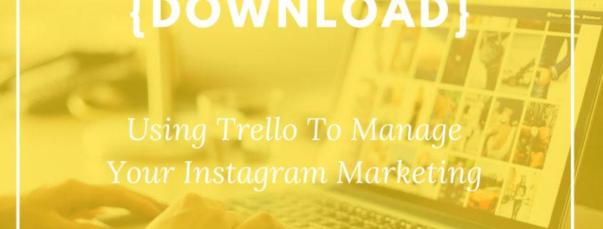 Using Trello for Instagram