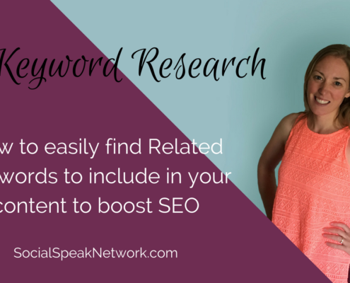 KW Research - find related keywords