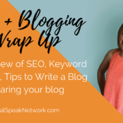 SEO and blogging