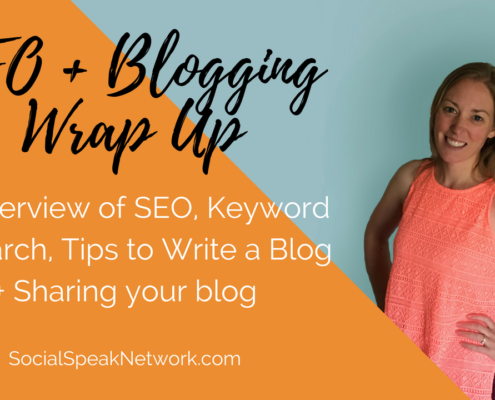SEO and blogging