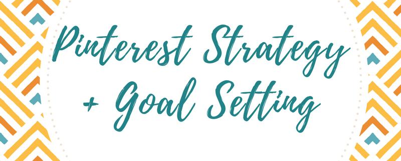Pinterest Strategy and Goal Setting Workbook
