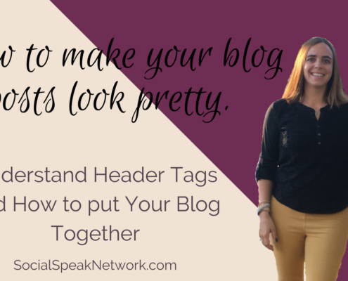 How to make your blog look good with header tags