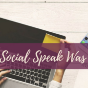 how social speak was born