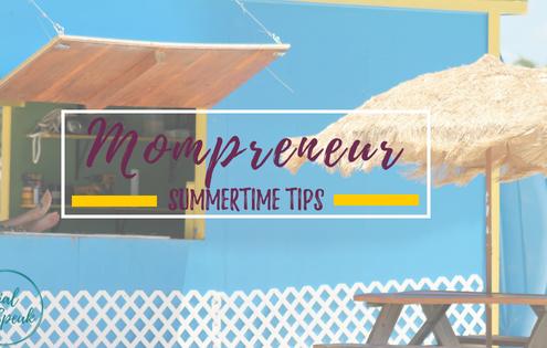 Mompreneur tips