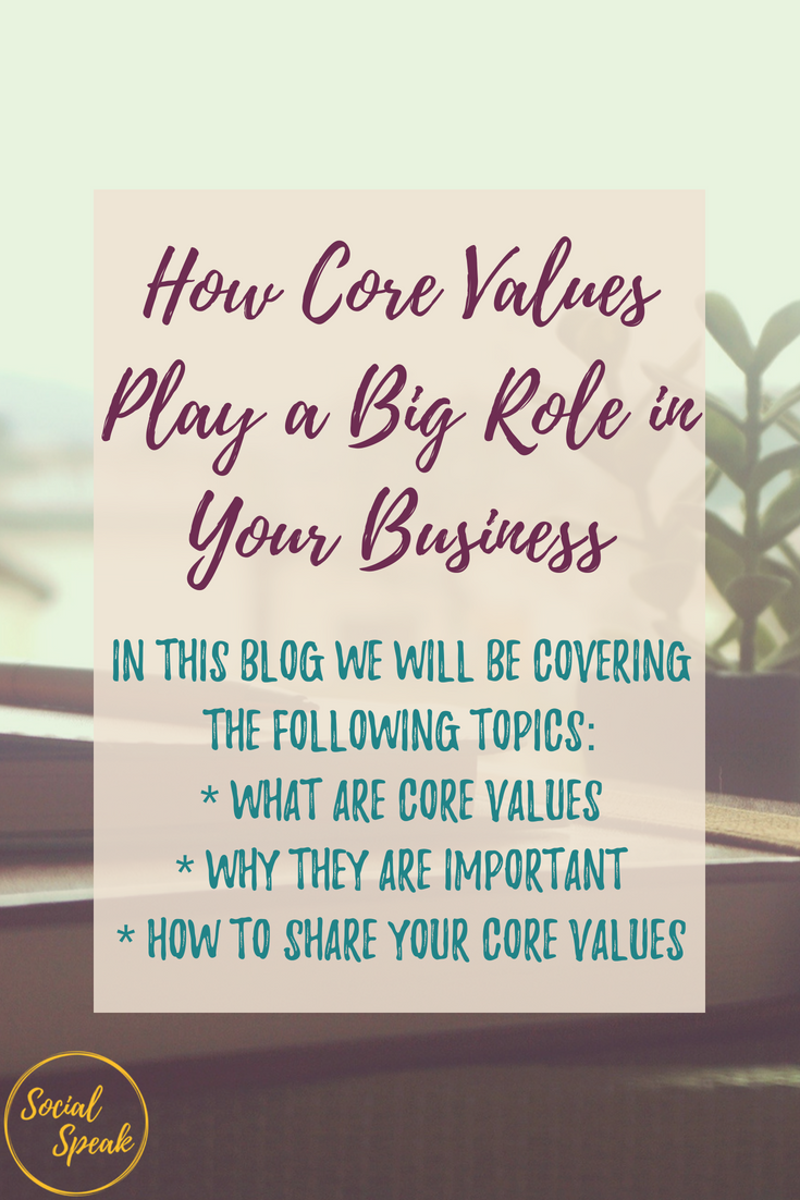 How to define your core values