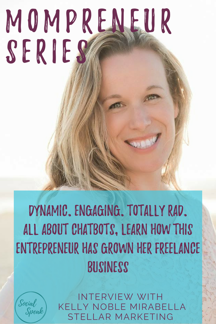 Mompreneur Interview with Kelly Noble Mirabella