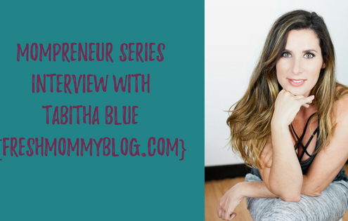 Mompreneur Interview with Tabitha Blue