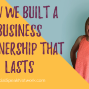 How to Make a Business Partnership that Lasts