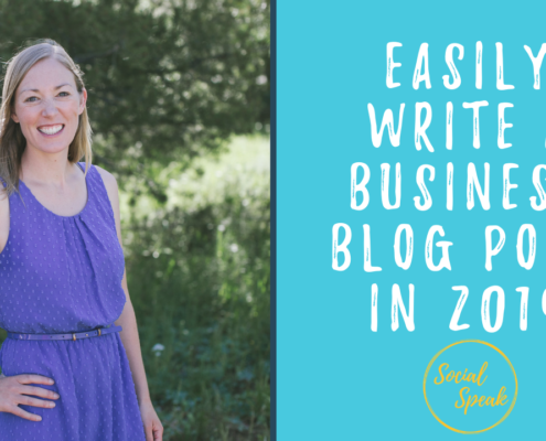 How to easily write a business blog post in 2019