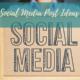social media topic ideas