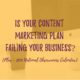 Is your Content Marketing Plan Failing your Business, Editorial Calendar 2019, #nationalholidays #businessevents2019