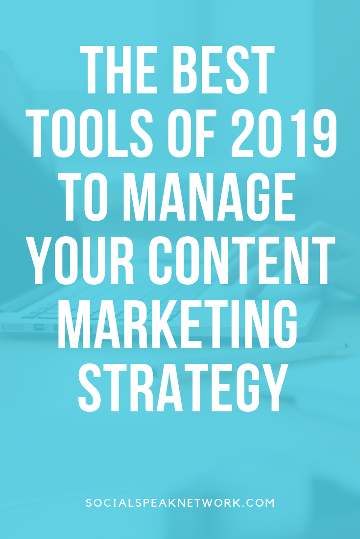 Best Content Management Technologies of 2019, Hubspot vs Coschedule for content management software #inboundmarketing #contentmarketing