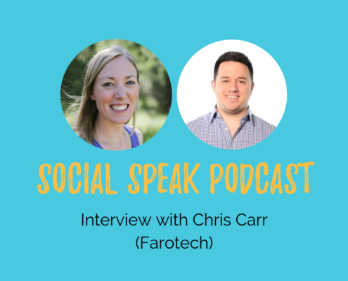 Social Speak Podcast chris carr with Farotech