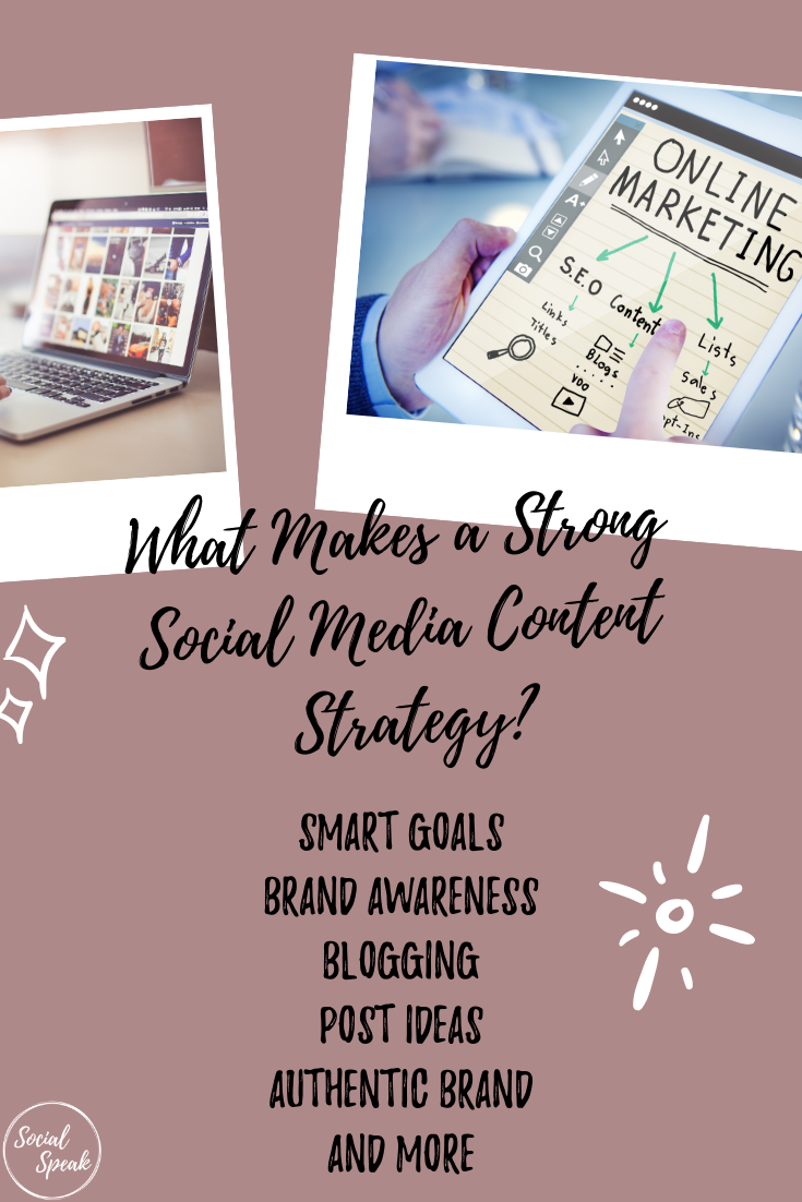 What Makes a Strong Social Media Content Strategy_