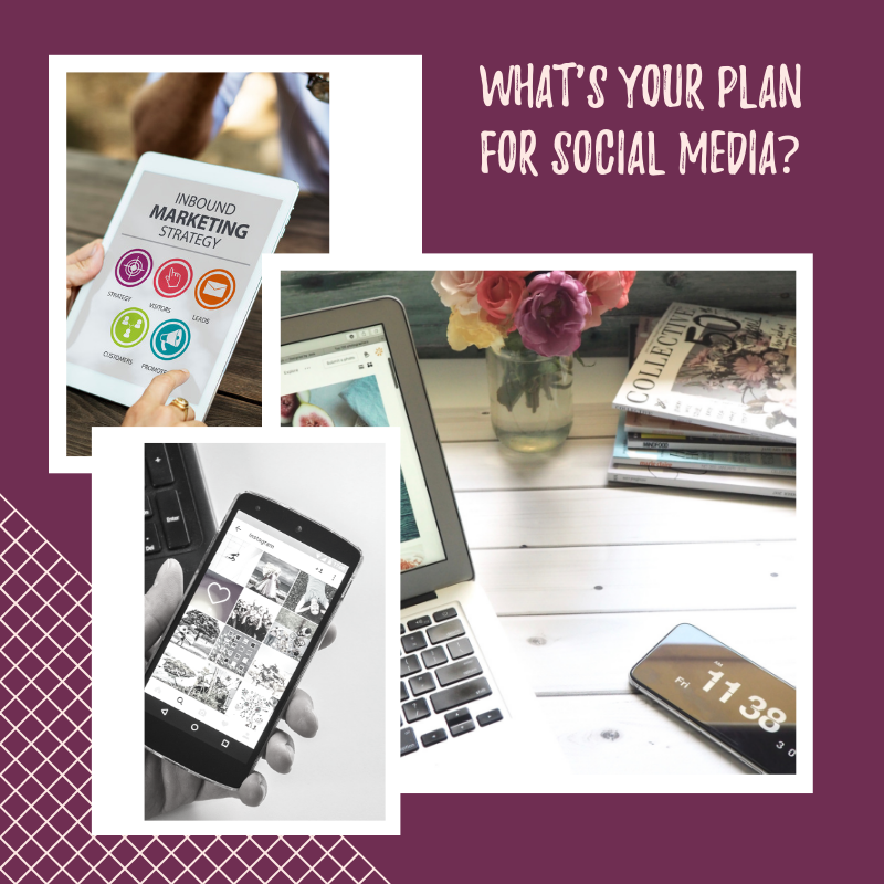 whats your social media plan?