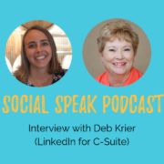 Deb Krier Interview about LinkedIn for Healthcare Marketing