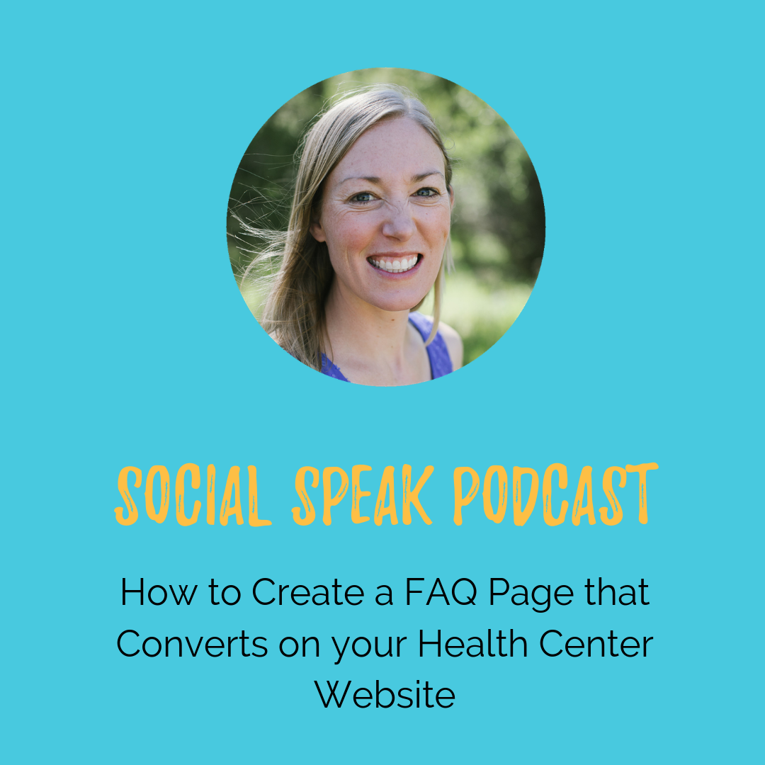 How to Create a FAQ Page that Converts on your Health Center Website