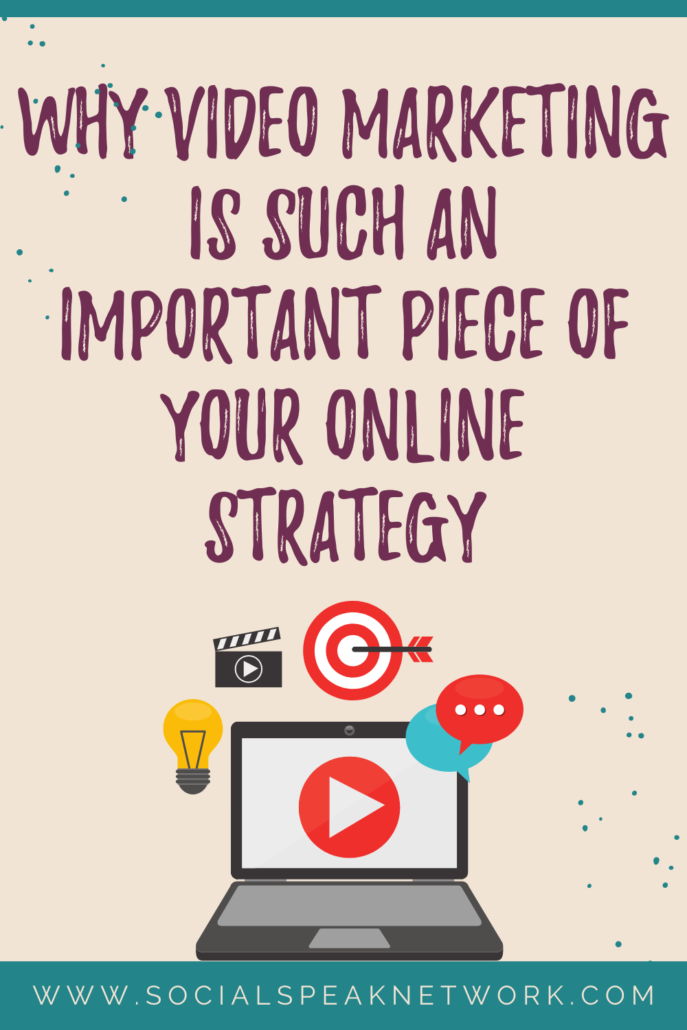 Why Video Marketing is Such an Important Piece of Your Online Strategy