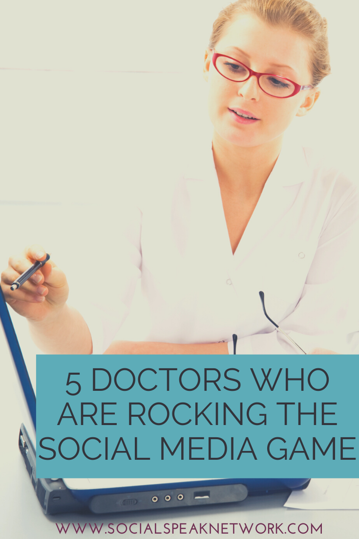 5 Doctors Who Are Rocking the Social Media Game