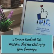 Facebook Ads Mistakes Blog