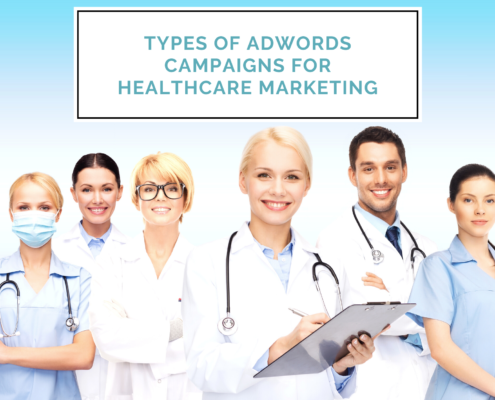 Types of Adwords Campaigns for Healthcare Marketing