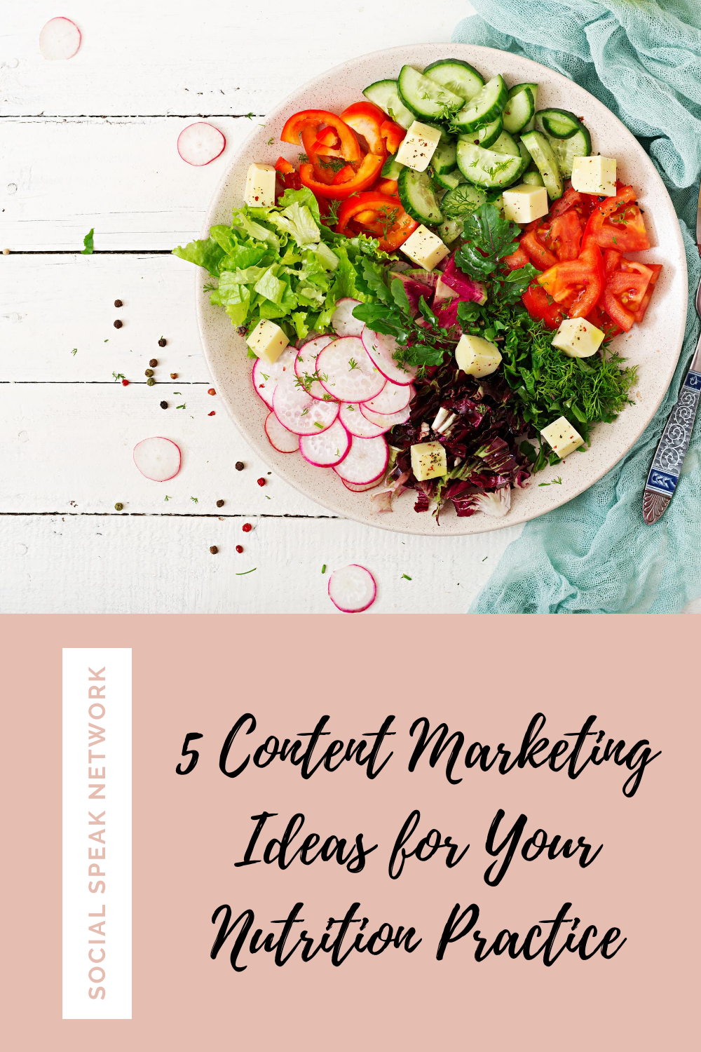 5 Content Marketing Ideas for Your Nutrition Practice