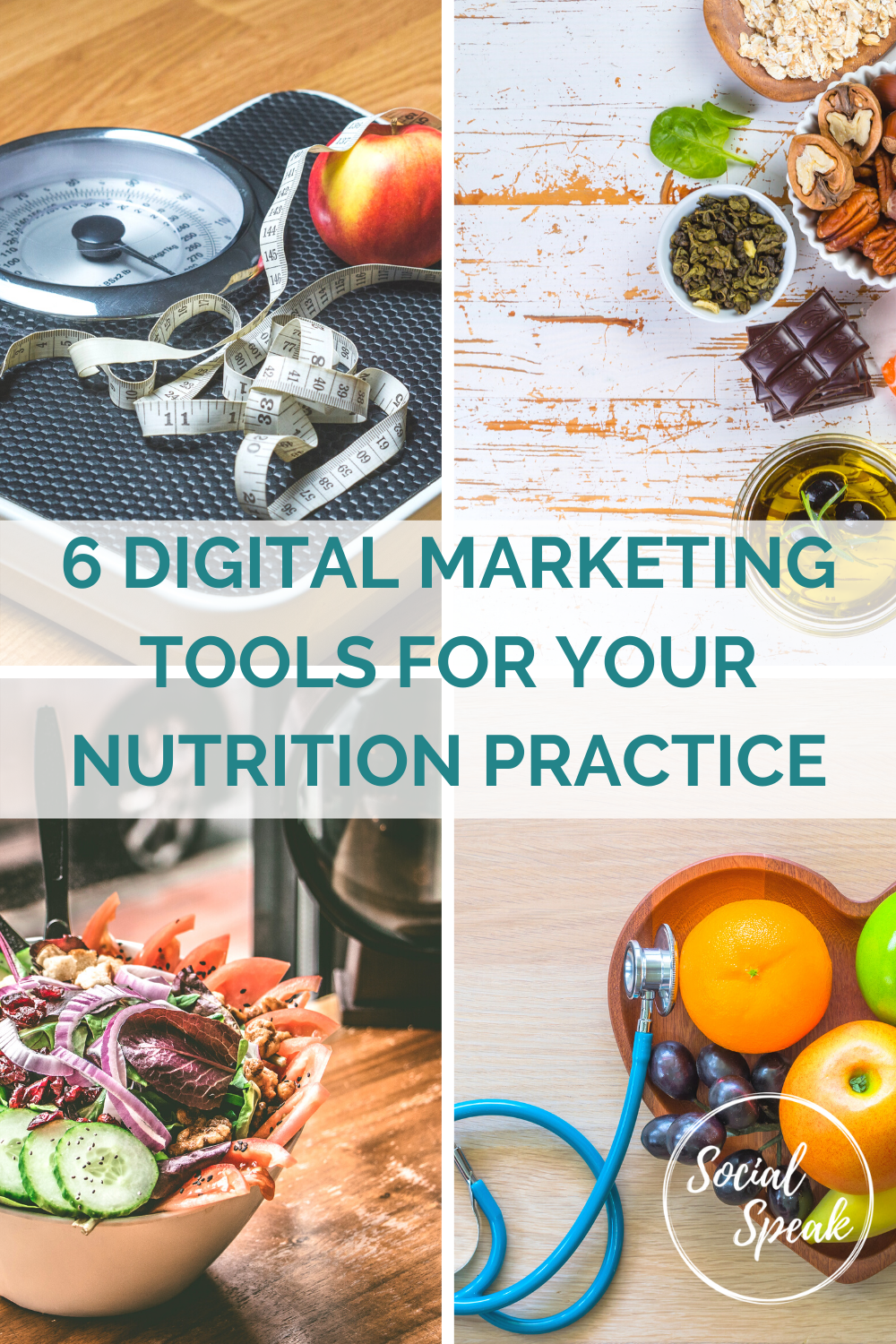 6 Digital Marketing Tools for your Nutrition Practice