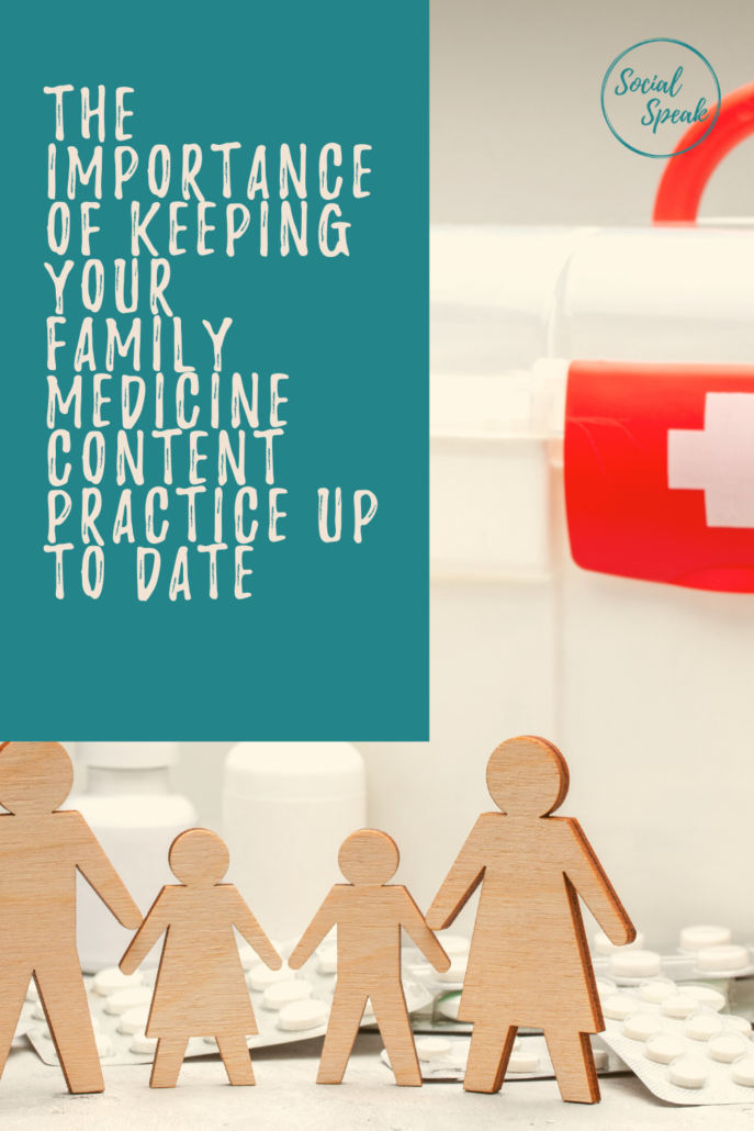 The importance of keeping your Family Medicine content up to date