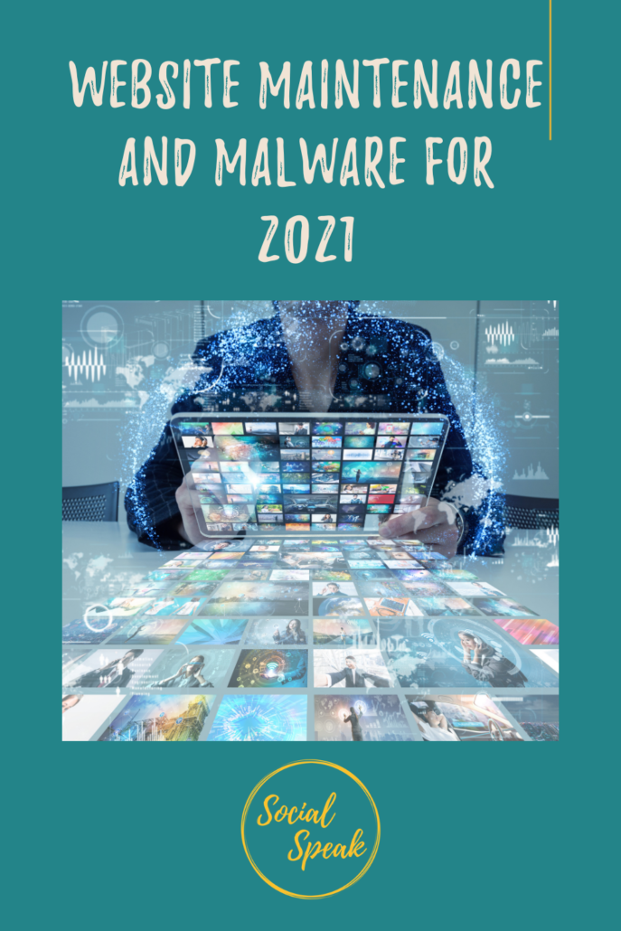 Website Maintenance and Malware for 2021