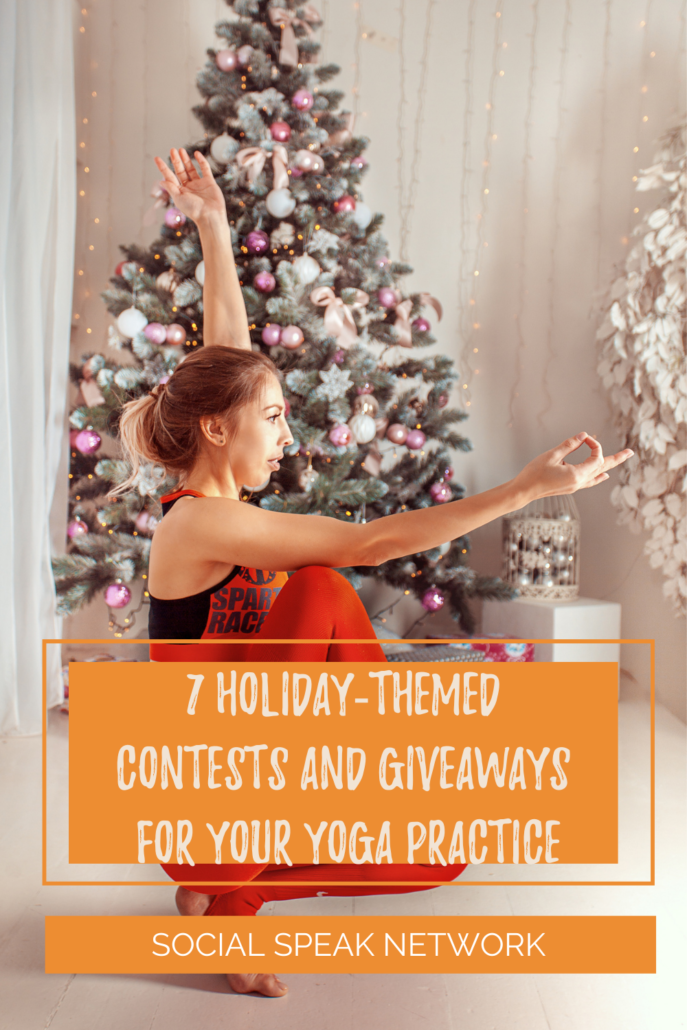 7 Holiday-Themed Contests and Giveaways for Your Yoga Practice