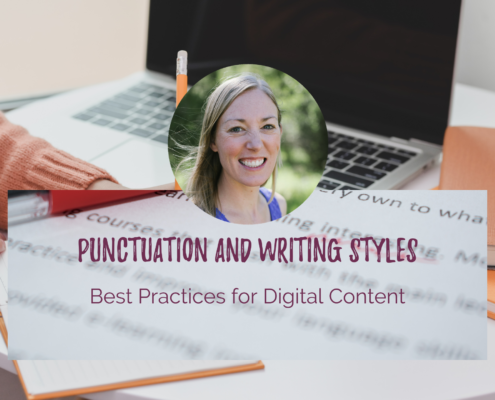 Punctuation and digital content writing tips