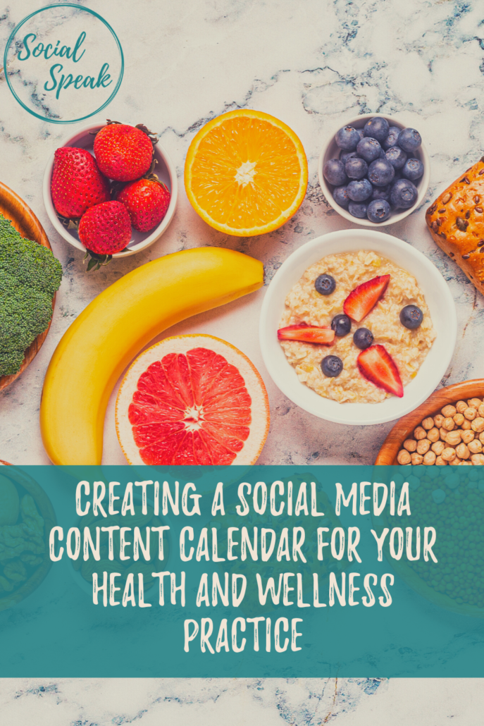 Creating a Social Media Content Calendar for Your Health and Wellness Practice